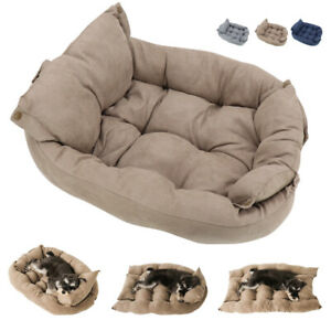 3 In 1 Dog Bed for Large Dogs Clearance Pet Mat Sofa Kennel Calming Nesting Bed