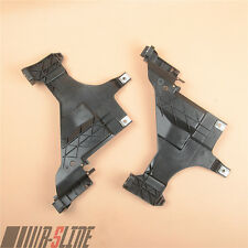 Pair Headlight Mount Plate Support tray Bracket For AUDI A4 B8.5 13-15 A5 12-16