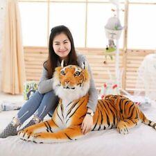 Soft Stuffed Tiger Plush Toy Pillow Animal Large Pattern Kawaii Doll Cotton Toys