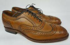 Allen Edmonds McAllister Wingtip Oxford Walnut Calf Brown Men's Shoes Size 7 D