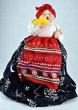 "VTG RUSSIAN TEA COZY Cosy DOLL TEAPOT Grandma (""BABA/Babushka"")/C"