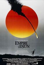 EMPIRE OF THE SUN (1987) ORIGINAL ADVANCE MOVIE POSTER - ROLLED - JOHN ALVIN ART