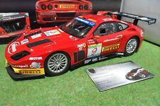 FERRARI 575 GTC ESTORIL 2003 # 9 TEAM J.M.B 1/18 KYOSHO 08393B voiture miniature