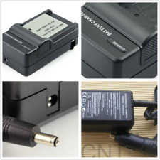Battery ac+car  Charger For CANON IXUS 115 117 130 220 230 HS 100 110 IS NB-4L