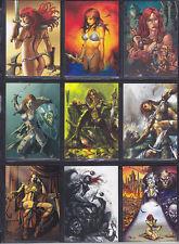 Breygent - Red Sonja 2012 - Complete Base Set of 72 Cards