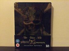 Pirates of the Caribbean: Salazar's Revenge 3D - Ltd Edition Steelbook (Blu-ray)