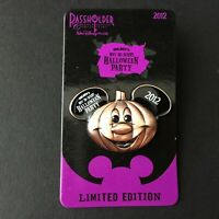 WDW MNSSHP Passholder Sculpted Mickey Jack o' latern pumpkin Disney Pin 92170