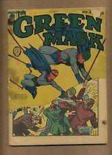 Green Mask #2 (Q) Fox Feature Comics 1940 Zanzibar Tuska Golden Age (c#11842)