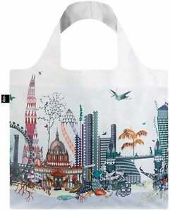 LOQI Kristjana S Williams LONDON CITY Landscape Reusable Shopping Travel Tote