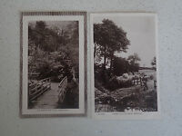 Vintage Postcard. Set of Two of Greenock with stamps (61,62)