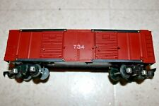 Vintage American Flyer 734 Operating Box S Scale Red Nice