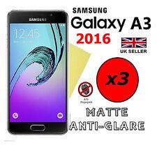 3x HQ MATTE ANTI GLARE SCREEN PROTECTOR COVER FILM GUARD SAMSUNG GALAXY A3 2016