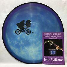 E. T. The Extra - Terrestrial Soundtrack Original Picture Disc LP Vinyl Record