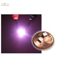 10 Stück SMD LED Pink PLCC-2 3528, pinke LEDs PLCC2, purple roze rosa SMT SMDs