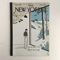 The New Yorker January 15 2001 Full Magazine Theme Cover by Jean-Claude Floch