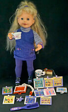 Amazing Ally 1999 doll Lets play Teaparty Playmates Toys Discontinued + accessor
