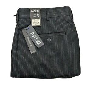 APT.9 Men's Pants Size 34x30 Modern Straight Fit Pinstripe New MSRP $55.00