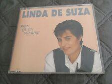 """CD MAXI 2 TITRES """"RIEN QU'UN SOURIRE / NE PERDS PAS L'ESPOIR"""" Linda DE SUZA"""