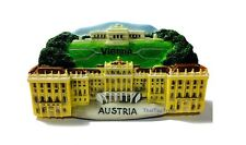 TOURIST SOUVENIR Resin 3D FRIDGE MAGNET -- Vienna , Austria