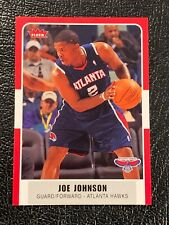 2007-08 Fleer Atlanta Hawks Basketball Card #82 Joe Johnson