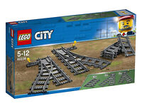 60238 LEGO CITY TRAIN Switch Tracks 8 Pieces Age 5+ New Release for 2018!