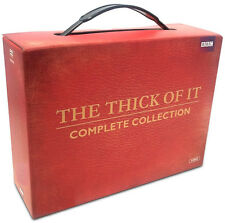 The Thick Of It . Complete Series Collection . Season 1 2 3 4 + Specials . 8 DVD