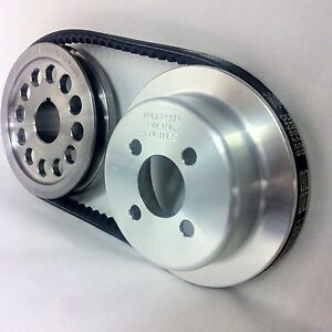 FORD PINTO ALLOY WATER PUMP AND ALLOY CRANK PULLEY KIT