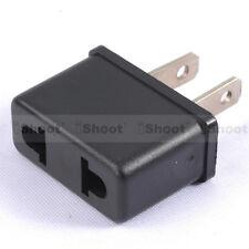 AU Australia EU Europe to US USA America AC Power Plug Adapter Travel Converter