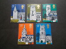 GB 1972 Commemorative Stamps~Churches~Fine Used Set~UK Seller