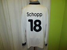 Hamburger SV uhlsport UEFA-CUP Matchworn Trikot 1996/97 + Nr.18 Schopp Gr.XL