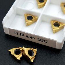 11ir A60 Ldc Carbide Insert Internal Threading Insert For Turning Tool Holder