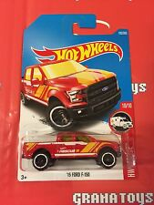 15 Ford F-150 #185 Red 2017 Hot Wheels Case H