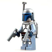 Minifigurine Jango Fett Star Wars 4 cm no  Lego Minifigure  figures