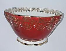 VINTAGE Royal Standard Red Sugar bowl...Perfect