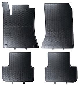 Ruvido tappetini in gomma Octagon Grigio adatto per MERCEDES GL x166 SUV 5trg a partire dal 11//12