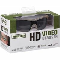 Moultrie HD Video Camera Shooting Hunting Spy Fishing Scouting Sun Glasses 720p