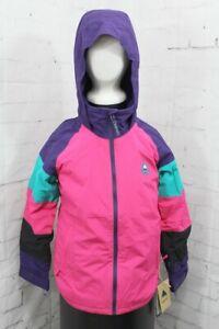 Burton Hart Snowboard Jacket, Youth Girls' Extra Small/XS, Pink / Purple New