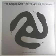 The Black Crowes Three Snakes And One Charm CD Europa promo portada cartón