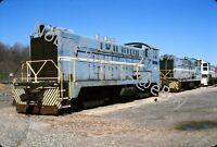 2003 SLRS 100 Diesel Locomotive Baldwin DS4-4-660 New Jersey Kodachrome Slide