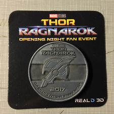 Thor Ragnarok Movie Opening Night Fan Event Collectors Coin