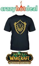 Men `S Camiseta World of Warcraft Mop - ALIANZA - Gr. M - NUEVO / embalaje