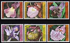 Bulgarien 3441-46 **, Orchideen-Blumen