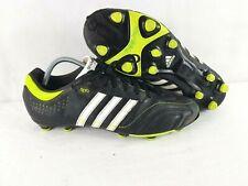 Adidas 11 Nova TRX FG Mens Football Boots UK Size 10 Lime/Black