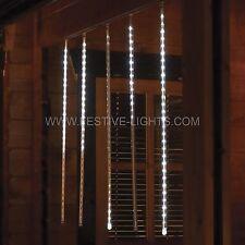 Lot de 5 4M secteur extérieur fenêtre de noël de noël chutes de neige icicle led chaîne lumières