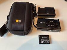 Canon PowerShot A3400 IS HD 16.0MP Digital Camera - Dark Blue