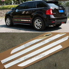 Stainless Steel Body Side Door Cover Trim For Ford Edge Lincoln MKX 2007-2014