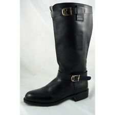 """Handmade Tall Motorcycle Bateau Mad Max Replica boots Height 14.5"""" UK 5-12"""