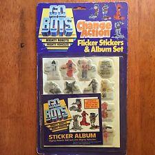 1984 Go Bots Sticker Set MOC Tonka Co. Toy