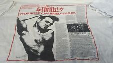 MORRISSEY MARRIED SHOCK T SHIRT 1988 SUPER RARE COLLECTABLE NME SUBSCRIPTION
