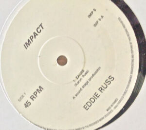 """Eddie Russ 12"""" - Zaius/See The LIght/Tea Leaves"""